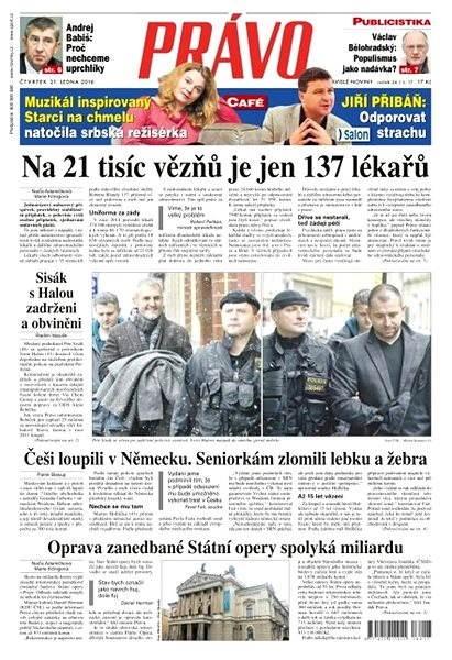 Právo - 21-01-2016 - Elektronické noviny