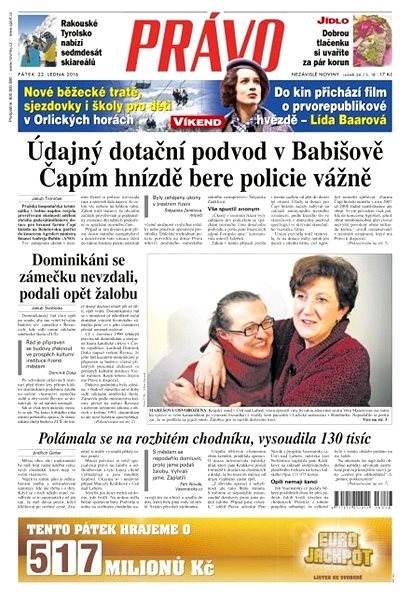 Právo - 22-01-2016 - Elektronické noviny