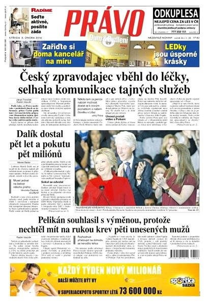Právo - 03-02-2016 - Elektronické noviny