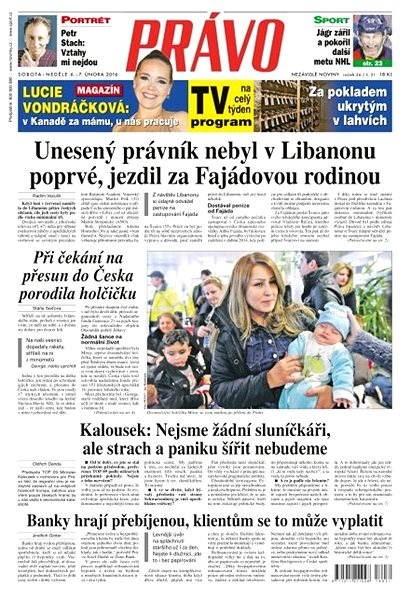 Právo - 06-02-2016 - Elektronické noviny