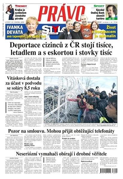 Právo - 23-02-2016 - Elektronické noviny