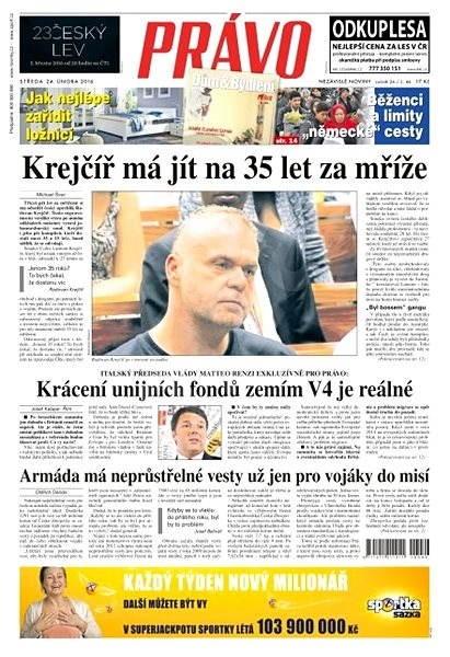 Právo - 24-02-2016 - Elektronické noviny