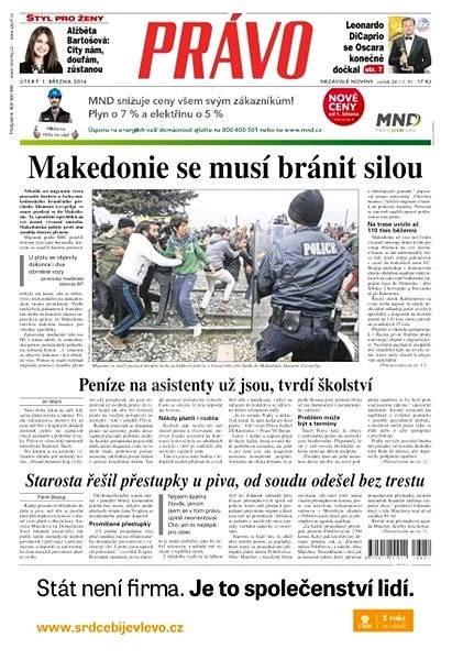Právo - 01-03-2016 - Elektronické noviny