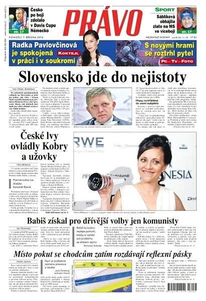Právo - 07-03-2016 - Elektronické noviny