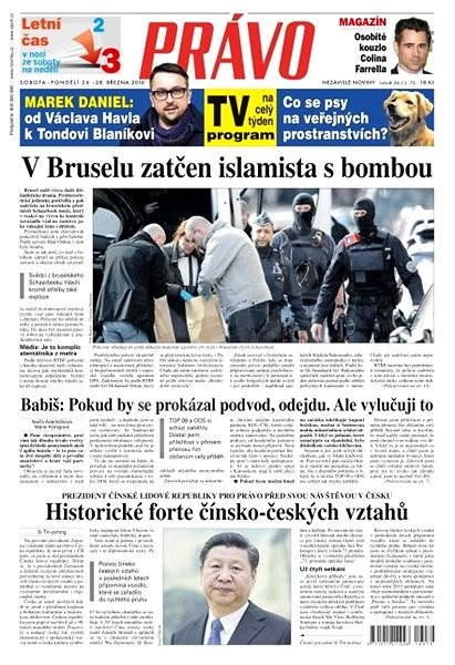 Právo - 26-03-2016 - Elektronické noviny