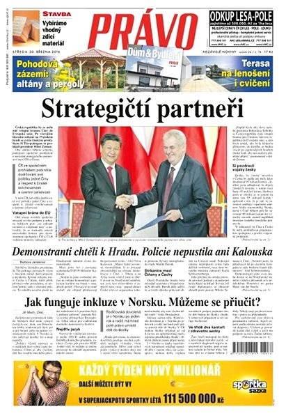 Právo - 30-03-2016 - Elektronické noviny