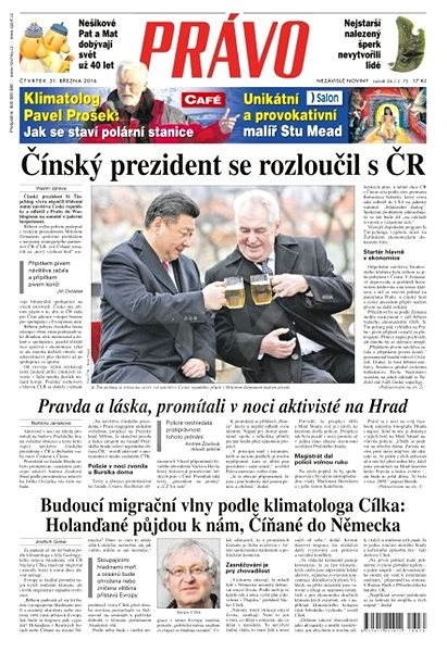 Právo - 31-03-2016 - Elektronické noviny