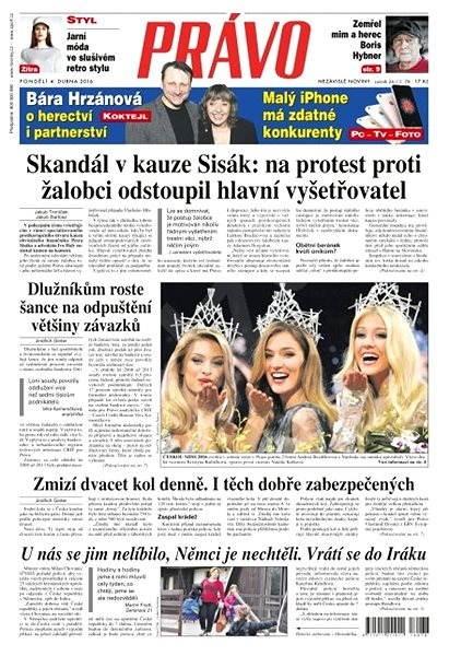 Právo - 04-04-2016 - Elektronické noviny