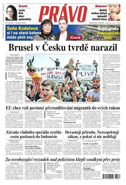 Právo - 07-04-2016 - Elektronické noviny