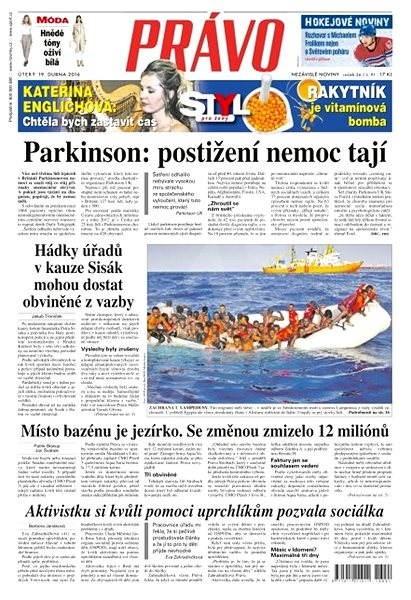 Právo - 19-04-2016 - Elektronické noviny