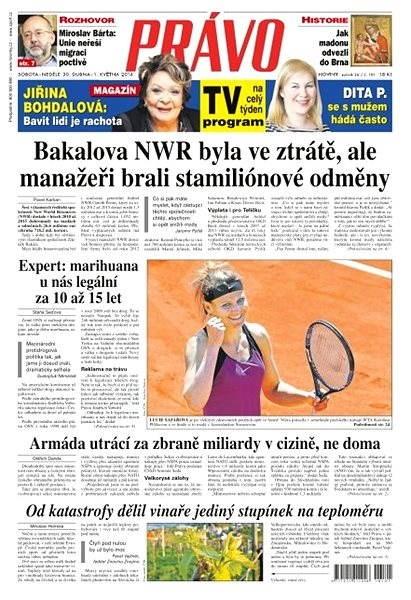 Právo - 30-04-2016 - Elektronické noviny