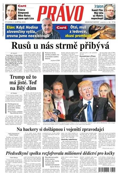 Právo - 05-05-2016 - Elektronické noviny