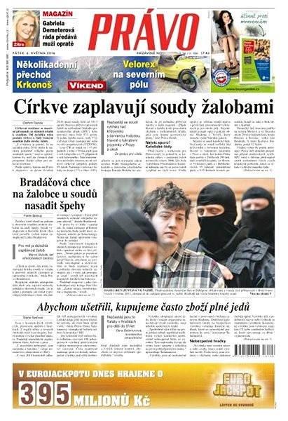 Právo - 06-05-2016 - Elektronické noviny