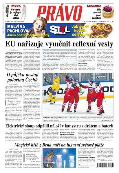Právo - 10-05-2016 - Elektronické noviny