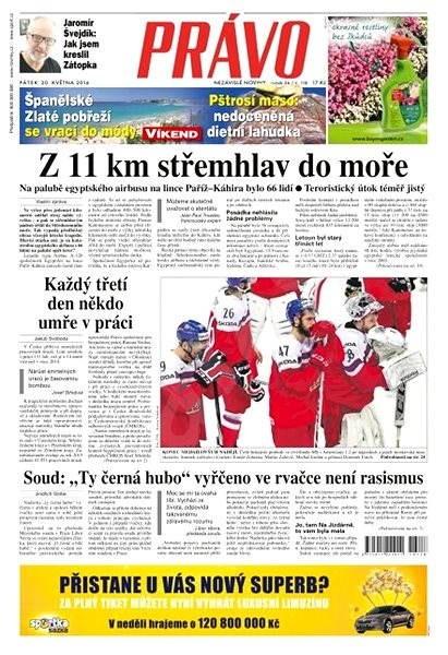 Právo - 20-05-2016 - Elektronické noviny
