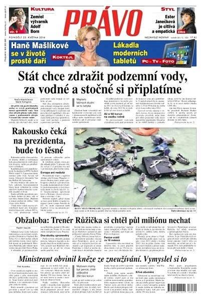 Právo - 23-05-2016 - Elektronické noviny