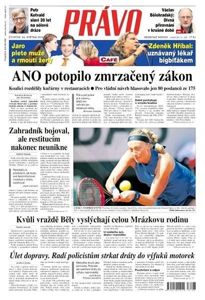 Právo - 26-05-2016 - Elektronické noviny