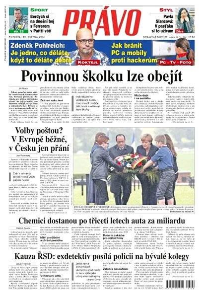 Právo - 30-05-2016 - Elektronické noviny