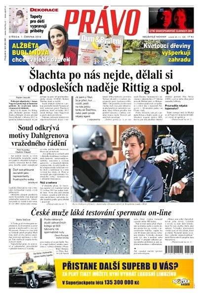 Právo - 01-06-2016 - Elektronické noviny