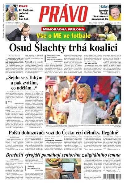Právo - 09-06-2016 - Elektronické noviny