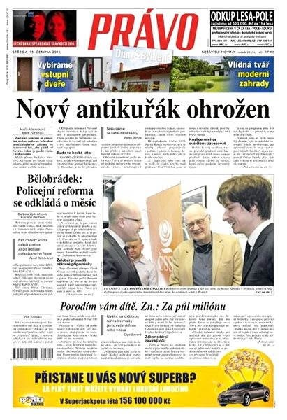 Právo - 15-06-2016 - Elektronické noviny