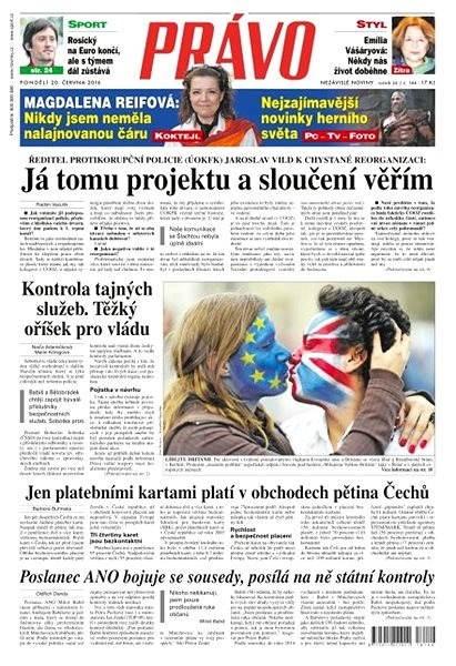 Právo - 20-06-2016 - Elektronické noviny