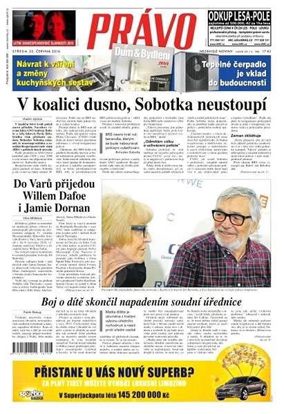 Právo - 22-06-2016 - Elektronické noviny