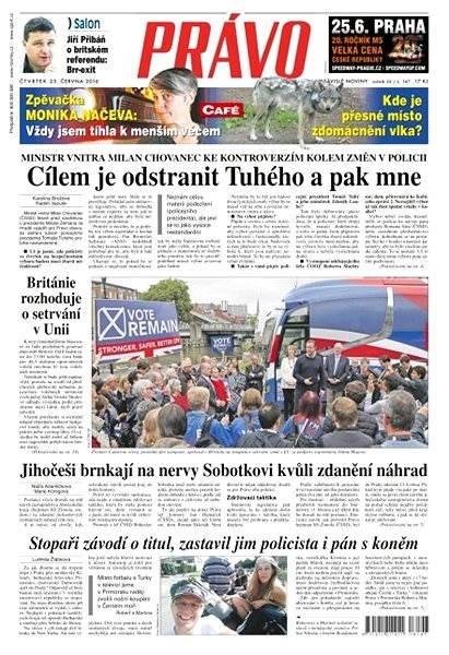 Právo - 23-06-2016 - Elektronické noviny