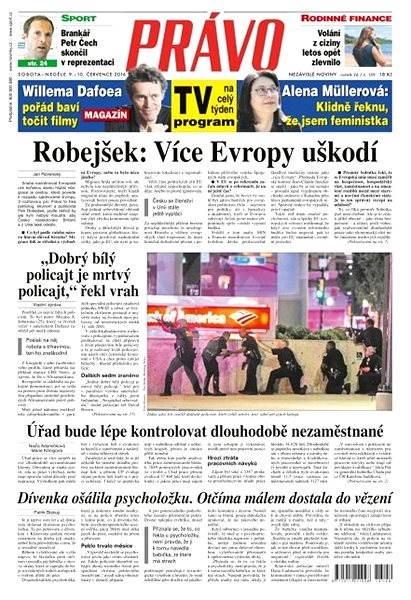 Právo - 09-07-2016 - Elektronické noviny
