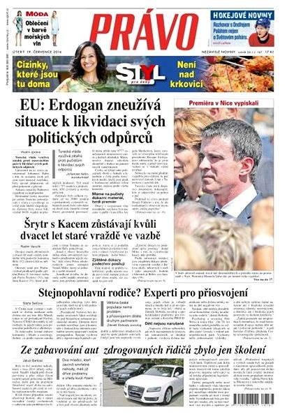 Právo - 19-07-2016 - Elektronické noviny