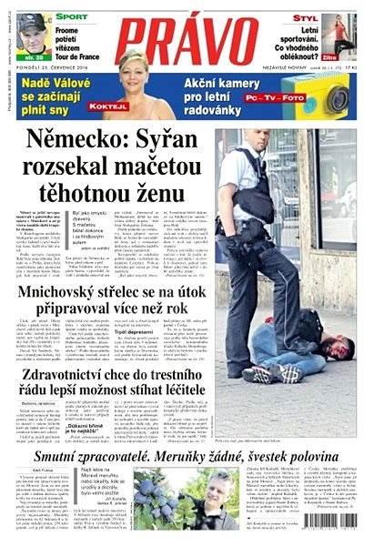 Právo - 25-07-2016 - Elektronické noviny