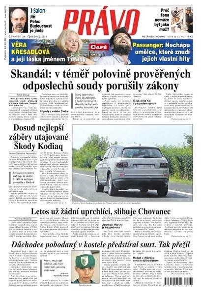 Právo - 28-07-2016 - Elektronické noviny