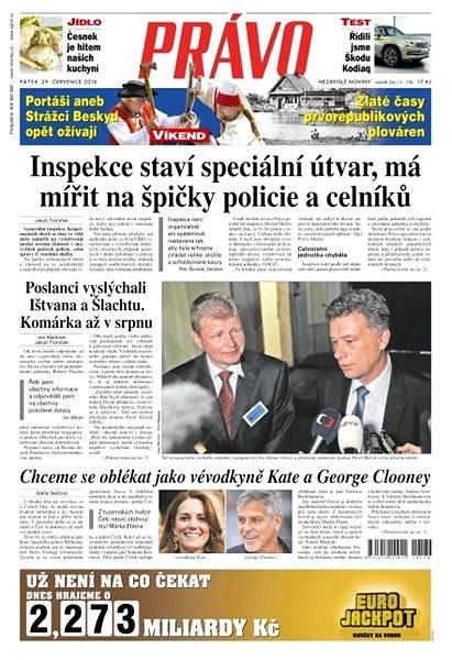 Právo - 29-07-2016 - Elektronické noviny