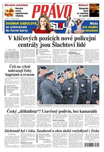 Právo - 02-08-2016 - Elektronické noviny
