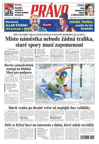 Právo - 11-08-2016 - Elektronické noviny