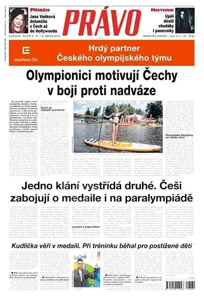 Právo - 13-08-2016 - Elektronické noviny