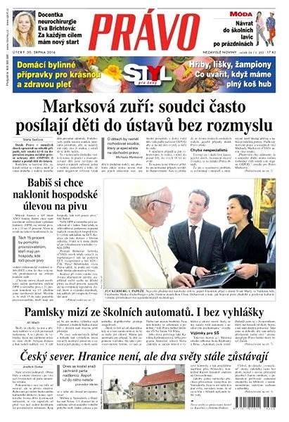 Právo - 30-08-2016 - Elektronické noviny