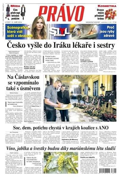 Právo - 13-09-2016 - Elektronické noviny