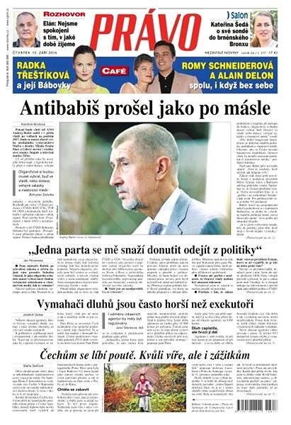 Právo - 15-09-2016 - Elektronické noviny