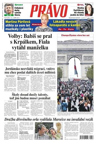 Právo - 26-09-2016 - Elektronické noviny