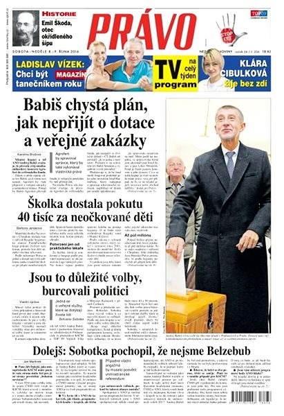 Právo - 08-10-2016 - Elektronické noviny