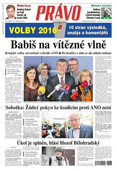 Právo - 10-10-2016 - Elektronické noviny