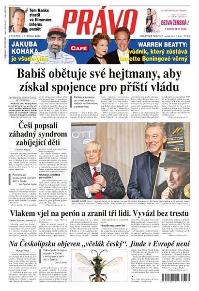 Právo - 13-10-2016 - Elektronické noviny