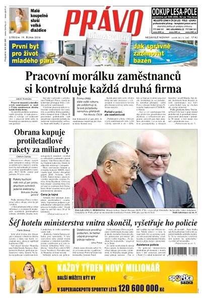 Právo - 19-10-2016 - Elektronické noviny