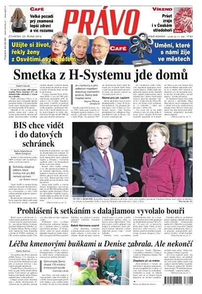 Právo - 20-10-2016 - Elektronické noviny