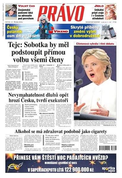 Právo - 21-10-2016 - Elektronické noviny