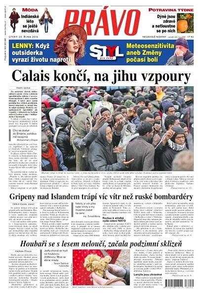 Právo - 25-10-2016 - Elektronické noviny