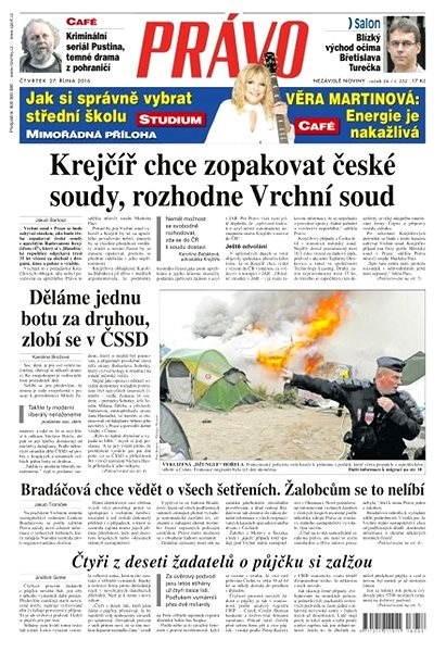 Právo - 27-10-2016 - Elektronické noviny