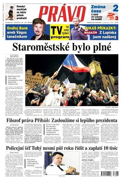 Právo - 29-10-2016 - Elektronické noviny
