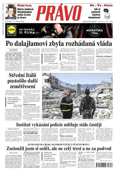 Právo - 31-10-2016 - Elektronické noviny